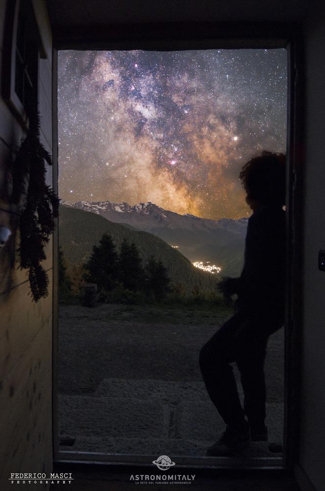 Malga del Doss ad Ossana in Trentino - I cieli più belli d'Italia