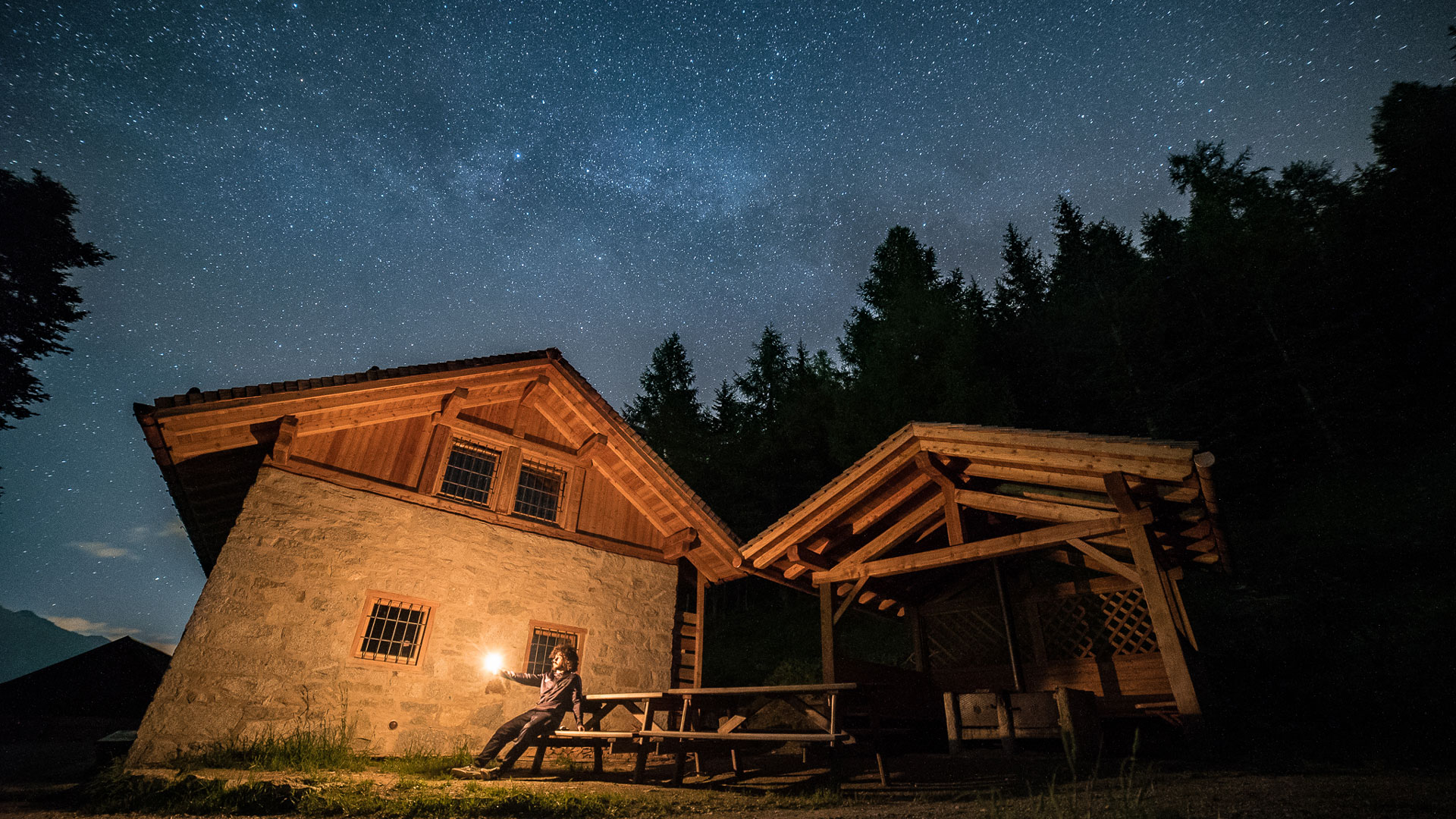 Malga del Doss ad Ossana in Trentino Alto Adige - I cieli più b