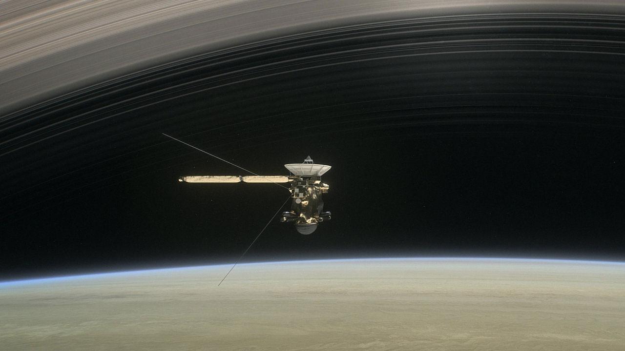 Sonda Cassini Grand Finale Saturno
