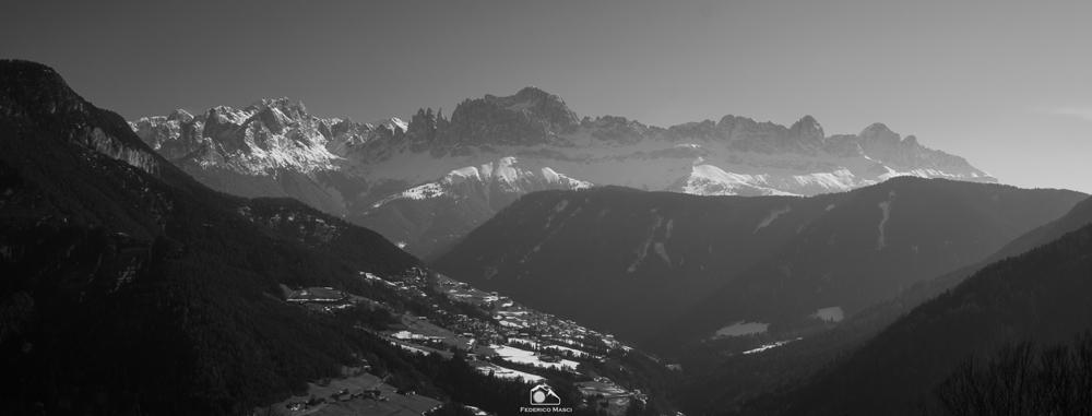 Panorama montagna Val d'Ega